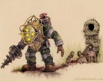 Bioshock 11x17 Print