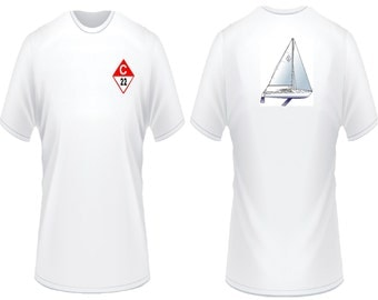 Catalina 22 Sailboat T-Shirt