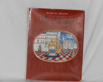 The Medici Marcel Brion Hardcover Reference Book 1969 Full Page Color Plates Great Illustrations