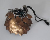 Bronze Scale Mail Dice Bag