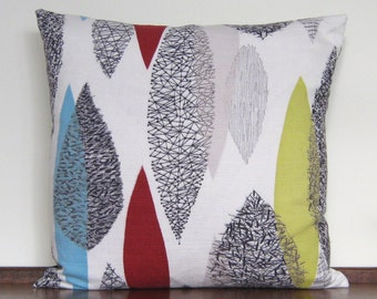 Vintage Cushion Pillow Cover - Abstract Eames Era