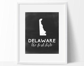 Delaware Printable