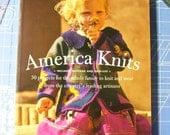 America knits- knitting pattern book