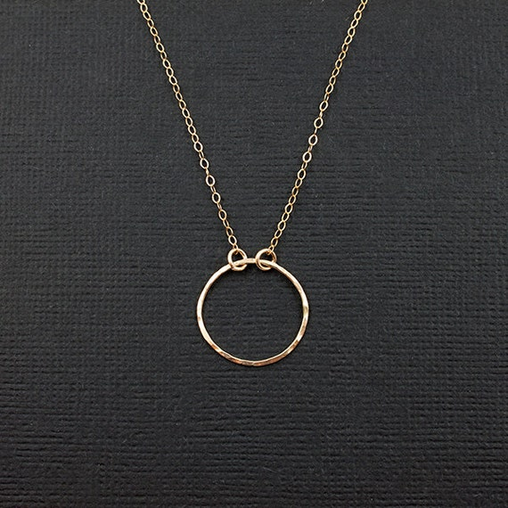 eternal promise ring necklace promise collection circle
