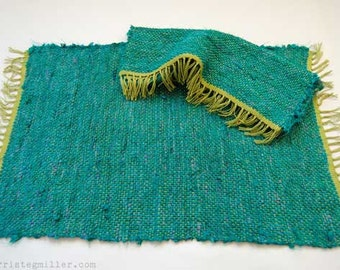 Handwoven Placemats Set of 2