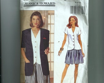 Butterick Misses' Jacket, Top, and Shorts Pattern 5529