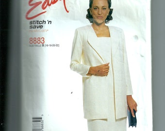 McCall's Misses' Unlined Jacket and Dress Pattern 8883