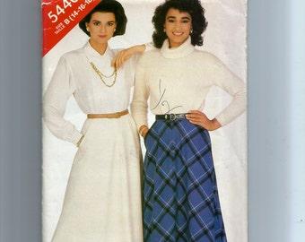Butterick Misses' Skirt Pattern 5440