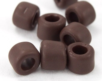 3/0 Matte Chocolate Seed Bead (40 Grams) #JPE006