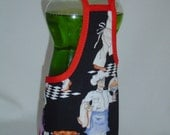 French Chef Cook Dish Soap Bottle Apron Staffer Party Favor Lg