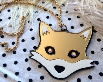 Mr. Fox Necklace
