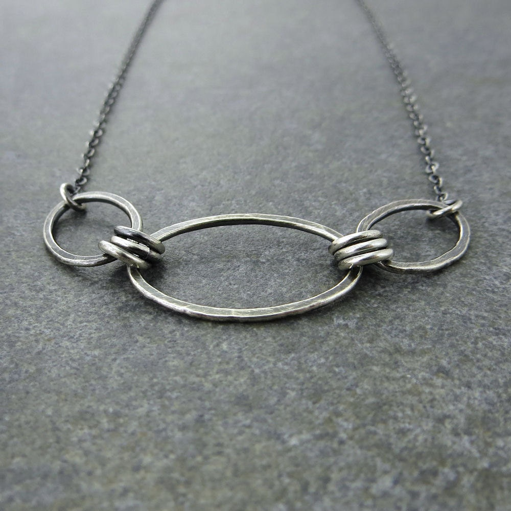 Simple Silver Necklace Everyday Necklace Sterling Silver Chain