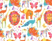 ORIGAMI OASIS by Tamara Kate CANDY Pinks Cotton Fabric Michael Miller 1 Yard