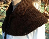 Hand Knit Highlands Capelet FREE Shipping in USA