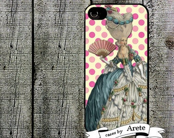 iphone 6 case Marie Antoinette Pink Dots iPhone Case, iPhone 4 4s   iPhone 5 5s Case  iPhone 5c