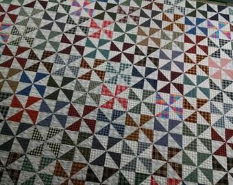 Homespun Pinwheels Quilt