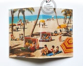 Passport Cover - vintage beach