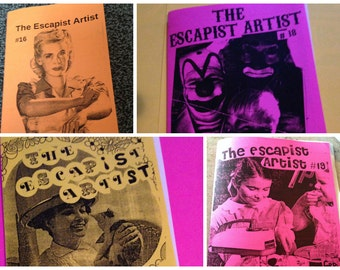 The Escapist Artist ZINE PACK #FOUR