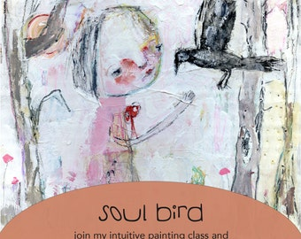 Soul Bird online class - by Mindy Lacefield