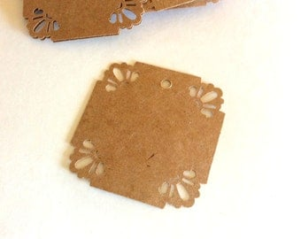 Gift Tags, Wedding Tags, Set of 30, Price Tags, Jewelry Tag, Favor