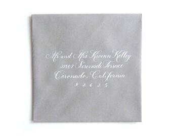 Return Address Stamp,Wedding Invitation Stamp,Calligraphy Stamp,Save the Date Stamp,Custom Address Stamp tiffany-script
