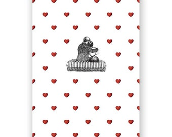SALE! We're Surrounded Valentine Card