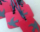 Square Bird Tags