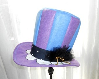 Top Hat Mad Hatter Oversized Custom Costume Party Celebration Available for Custom Order