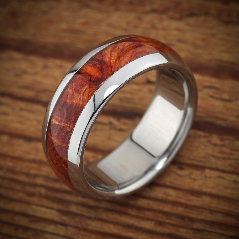 Wood Mens Wedding Bands
