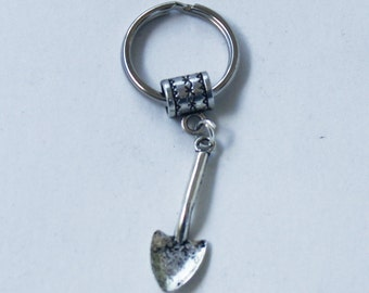 Silver SHOVEL Key Chain Key Ring key Holder Key Fob KC-Gen145