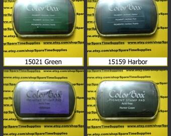 Colorbox - Pigment Ink Pad - assorted colors - 1 pkg