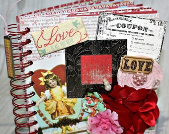 LOVE IS ALL You Need  A-z Scrapbook Scrapbooking Album