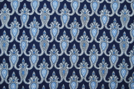 souleiado provencal fabric charles demery blue tissu souleiado. Black Bedroom Furniture Sets. Home Design Ideas