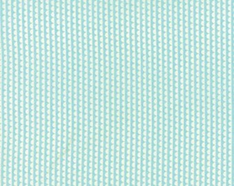 Miss Kate Sudae - For Moda - Aqua - 1 Yard - 9.95 Dollars