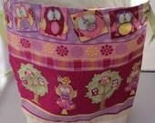 Owl love you - handmade projectbag