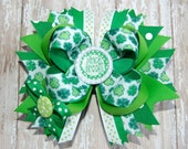 Pinch Proof  St. Patricks Day Bow
