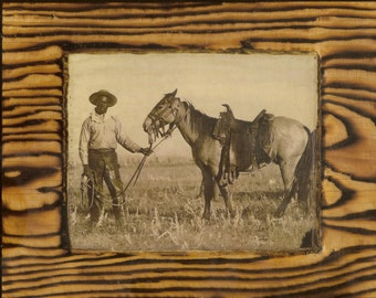Black Cowboy - Wooden Plaque