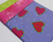 Pillowcase Kit Pattern DIY Pillow Case Hearts Valentines Day Love You Be Mine Gift Giving Sew Fun Nap Sleep Time Sweetheart
