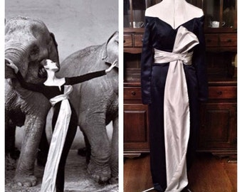Richard Avedon replica dress