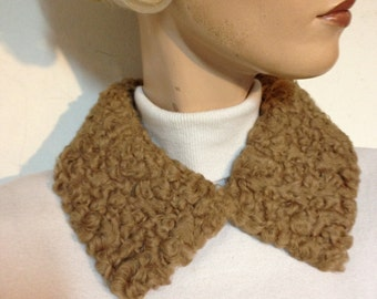Persian Lamb Collar VIntage 50s