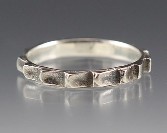 Thin Cog - Sterling Silver Gear Ring