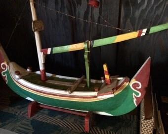 Vintage Balinese Soul Boat