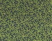 RESERVED FOR juditcole Green Branches Reproduction Fabric - Rocky Mountain Quilt Museum III, n545-114t