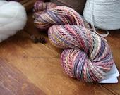 Handspun Yarn, Finnish Wool, Light Worsted Weight, 290 Yards, Bountiful