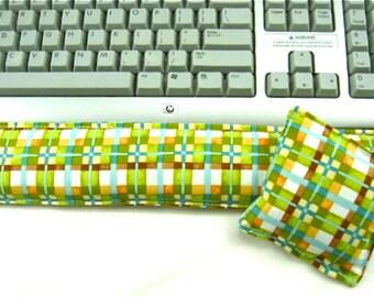 SALE Computer Keyboard Wrist Support Set, Wrist Rest Support, Office Supplies, Geekery, Desk Set,Gift Guide