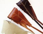 Feather Hair Headband - Eco Friendly Leather