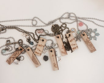 EXTRA wood charms ONLY*** The Original Debella oil diffuser necklace wood charm