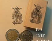 P63 Yoda rubber stamp