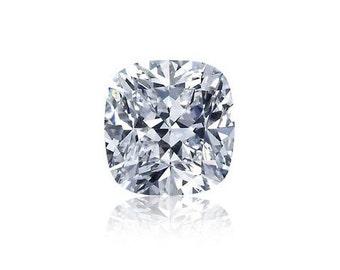 1ct Diamond F VS2 GIA Certified Loose Diamond Cushion Cut Diamond Conflict Free
