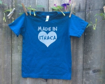 Organic cotton Made In Ithaca tee